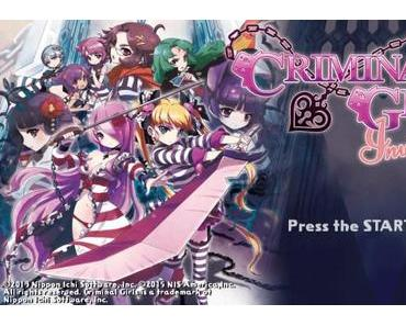 Criminal Girls: Invite Only (PS VITA) im Test