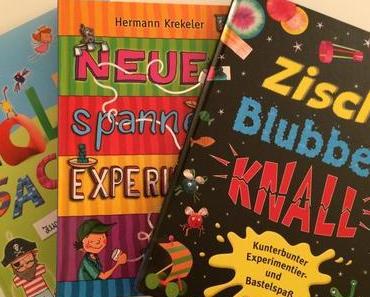 Ideenquelle: Experimentier- und Bastelbücher für Kinder