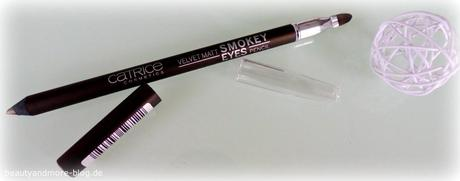 CATRICE Sortimentswechsel 2015 neue Produkte - Review - Velvet Matt Smokey Eyes Pencil