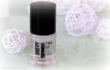 Catrice Sortimentswechsel Neuheiten - Review - Ultra Stay & Gel Shine Top Coat