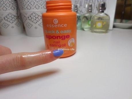 Essence Quick & Easy Sponge Nail Caring Oil-Review ♥