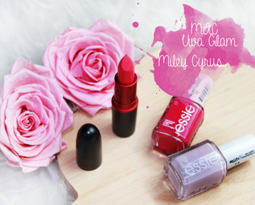 MAC Viva Glam Miley Cyrus   Swatch & Review