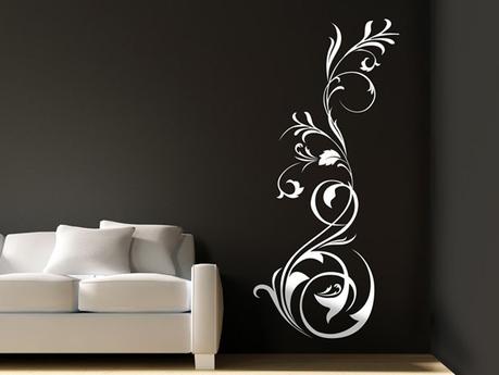 wandgestaltung wohnzimmer jetzt wird s bunt. Black Bedroom Furniture Sets. Home Design Ideas