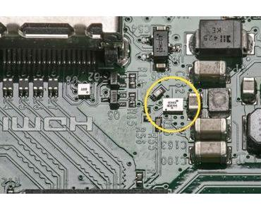 Xenon-Blitze schalten den Raspberry Pi 2 ab