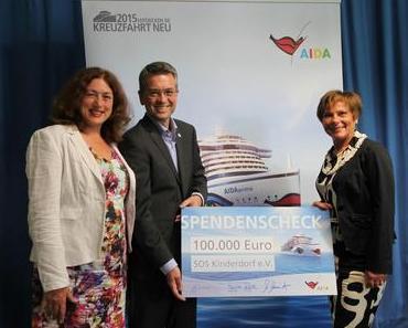 AIDA Cruises: AIDA und SOS-Kinderdorf feiern 10 Jahre Partnerschaft
