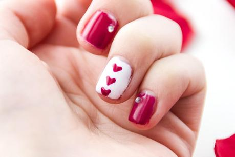 Nail Art: Happy Valentine`s Day