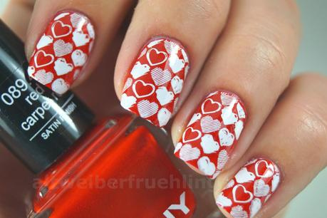 Pure Liebe: ANNY red carpet red und Creative Stamper