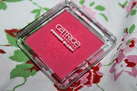 First Impression + Swatches: Catrice Rock-o-co Limited Edition Powder Blush C02 Madame de Pinkadour