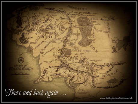 Book Launch: There and back again ... (Lord of the Rings)