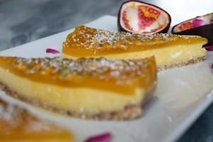 Sweet Sunday: Mango-Kuchen ohne Backen