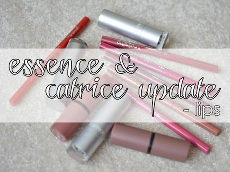 {essence & catrice update} Lips - Meine Highlights für die Lippen