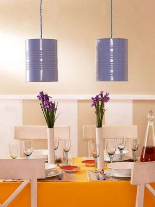 diy upcycling neuer lampenschirm aus altem blumen bertopf. Black Bedroom Furniture Sets. Home Design Ideas