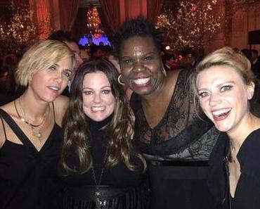 Die neuen Ghostbusters auf der SNL Aftershow Party
