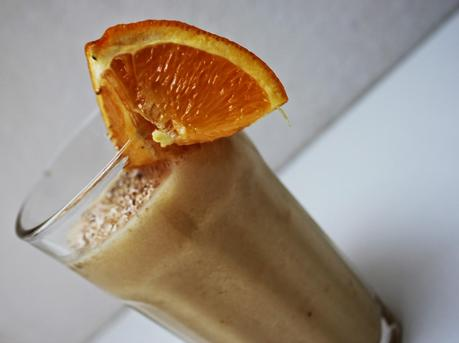 REZEPT : GRAPEFRUIT - ORANGE - BANANEN - SMOOTHIE