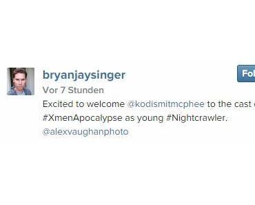 """Nightcrawler ist in """"X-Men: Apocalypse"""" und er wird gespielt von…"""