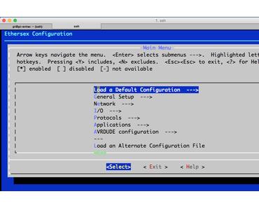 Wie kann auf einem Raspberry Pi unter Kali Linux Ethersex für den AVR-NET-IO compiliert werden?