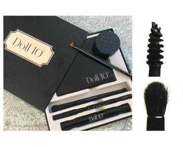 "DOLL NO.10 ""All Eyes on You""  Solides Make Up Set mit matten Lidschatten nicht nur für die Frau ab 40"