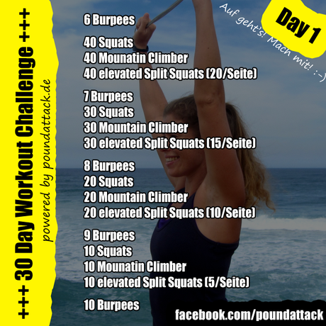 30 Day Workout Challenge – Day 1