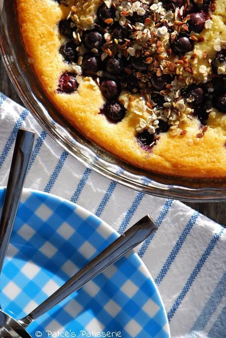 Blueberry Buttermilk Pie [Bye Bye Miss American Blueberry Pie  ♪♫ ]