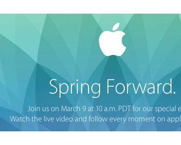 Apple Event am 9. März: Hier gibt's die passenden Wallpaper