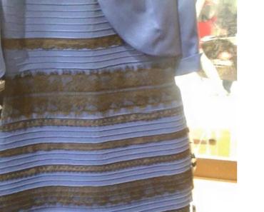 Ist das Kleid blau / schwarz oder weiß / gold ?