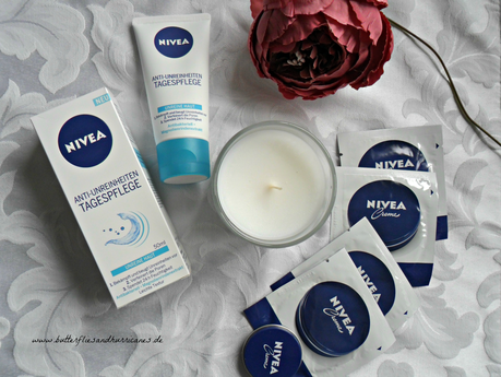 A butterfly: HAUL NIVEA ONLINE Anti blemishes Day Care