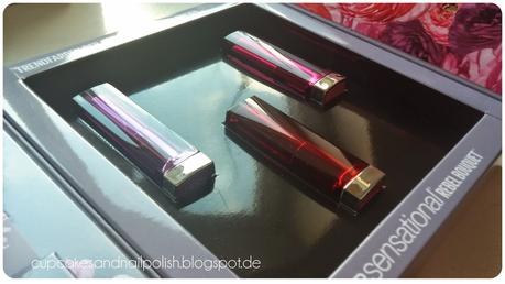 Maybelline Color Sensational Rebel Bouquet Lipsticks