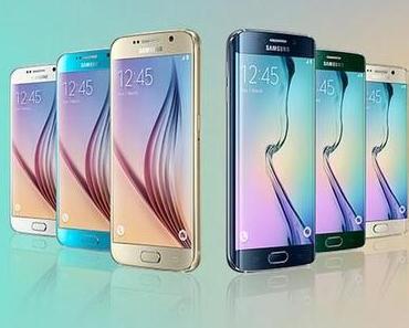MWC 2015: Samsung Galaxy S6, S6 Edge und HTC One M9