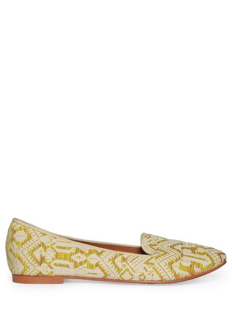Maison Scotch Patterned Loafer combo M
