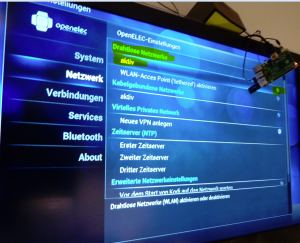 Raspberry Pi 2 als Media Center mit OpenELEC