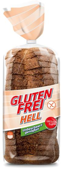 REAL Glutenfreies Brot hell