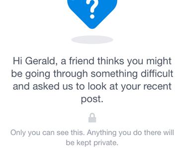 Facebook will Leben retten mit neuer Feedbackfunktion