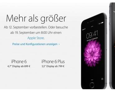 iPhone 6 jetzt kaufen und in monatlichen Raten zahlen