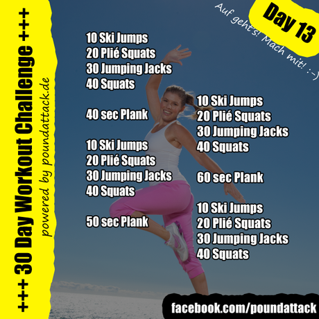 30 Day Workout Challenge – Day 13