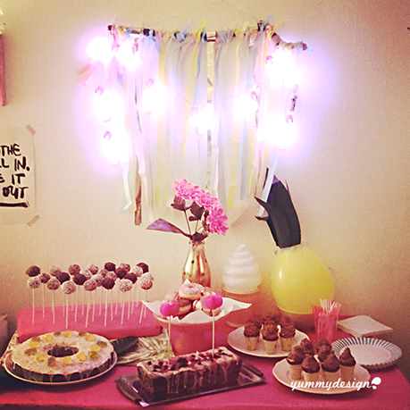 hawaii party with sweets & diy's