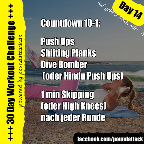 30 Day Workout Challenge – Day 14