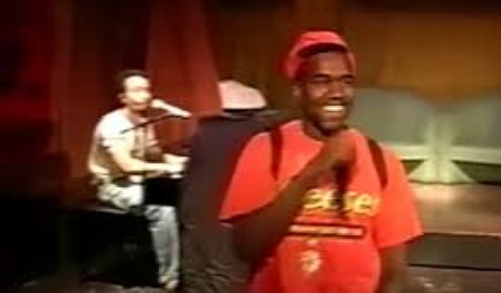 Kanye West & John Legend Perform 'Gold Digger' in 2003 (Video)