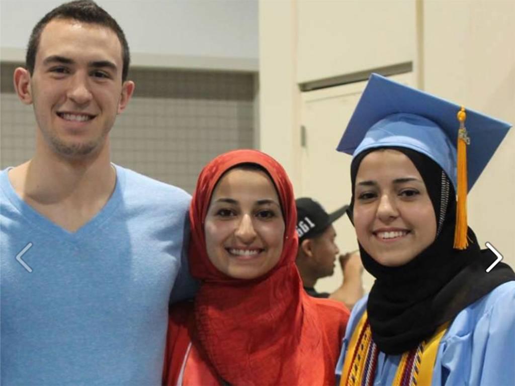 3 muslimische Studenten von einem Islam-Kritiker per Kopfschuss getötet