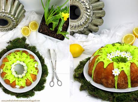 {Rezi-Friday} Ein kleiner Frühlingsbote mit Roy Fares Lemon and Vanilla Bundt-Cake