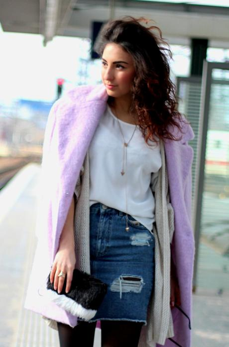 Blush Coat Outfit