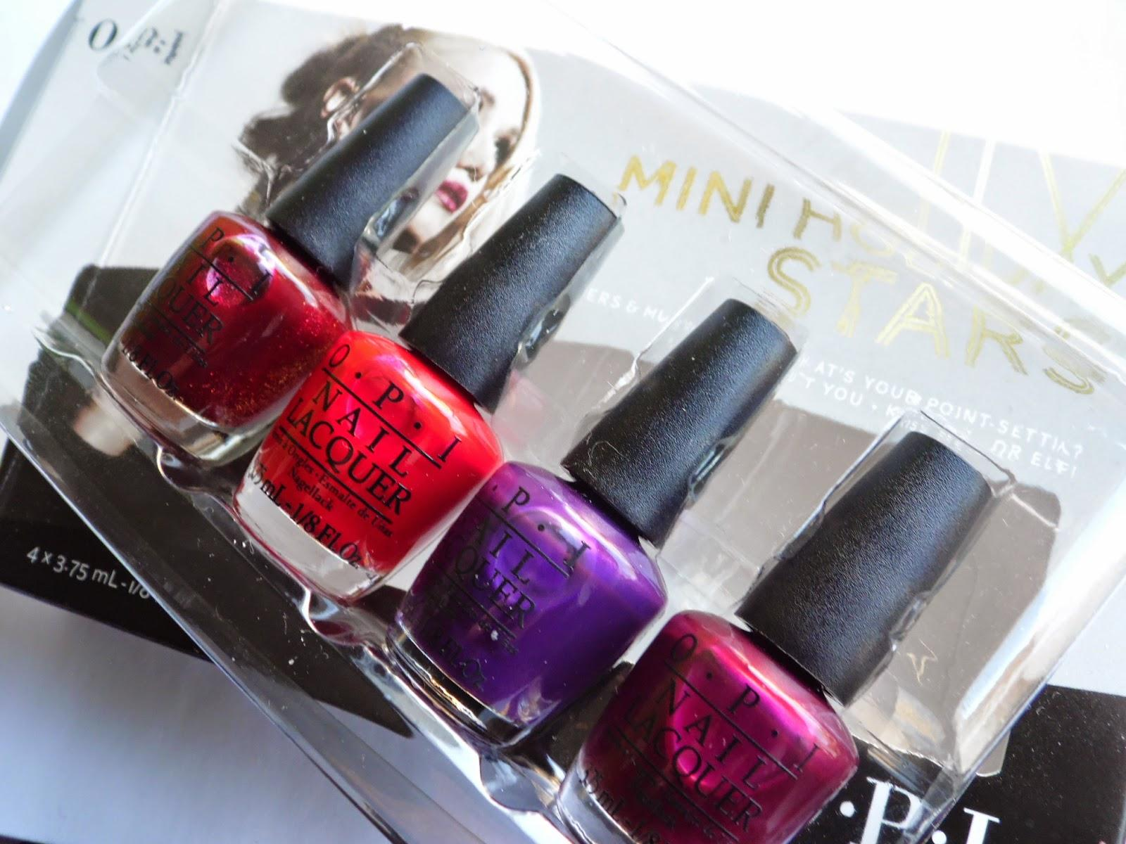 OPI Gwen Stefani Holiday Collection 2014