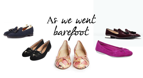 A butterfly: (Fashion) As we went barefoot ...