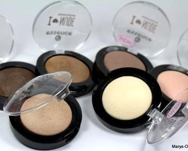 REVIEW: Essence I LOVE NUDE Eyeshadows...mit Swatches und Use Tip...