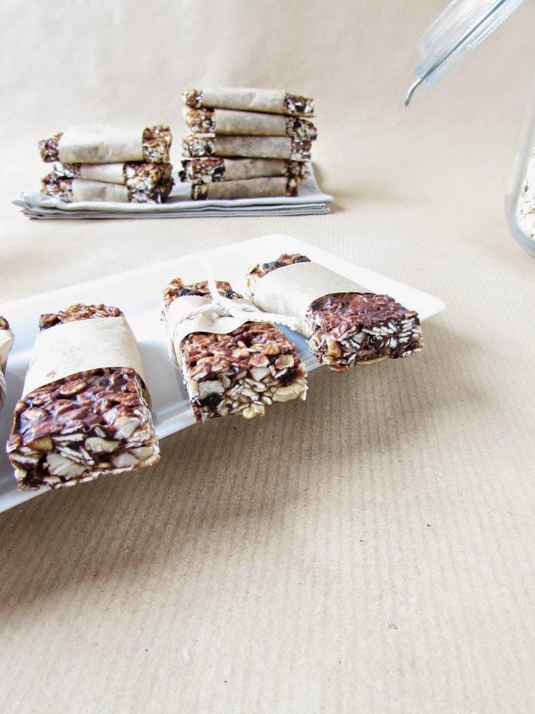 Dieses 'leidige' Thema - Chocolate and Nut Granola Bars