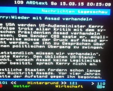 Syrien: Die ARD betätigt sich nachwievor als Sprachrohr der imperialistischen Kriegspolitik