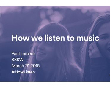 Wie hören wir Musik?