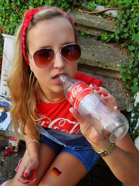 try to have swag// in love with coca cola