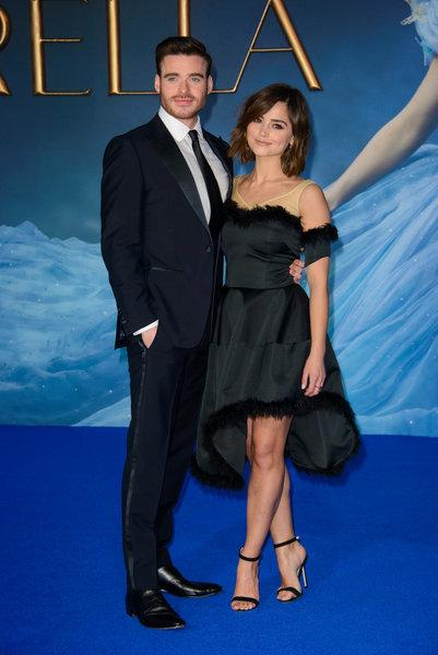 Richard Madden &  enna Coleman, Foto:  Chris Joseph / i-Images, picture alliance / ZUMAPRESS.com