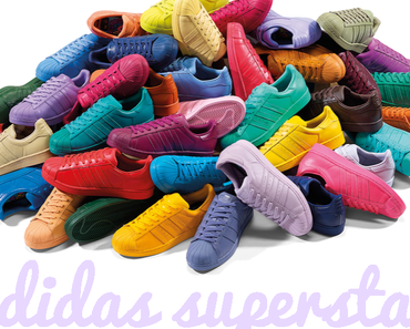 Adidas Superstar Supercolor made by Pharrell Williams