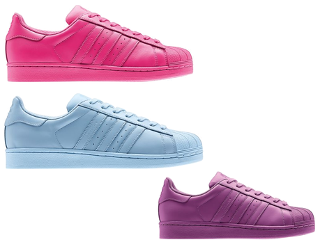 adidas superstar supercolor made by pharrell williams. Black Bedroom Furniture Sets. Home Design Ideas